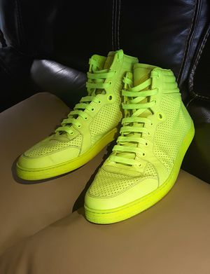 Photo Green Neon Gucci Sneakers, Unisex. Size : 9 (run big) Excellent Condition.