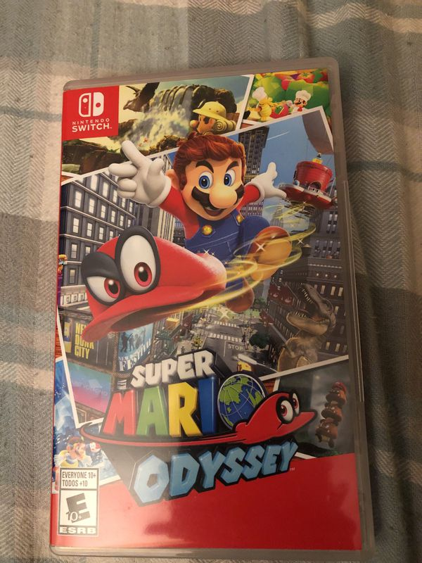 Super Mario Odyssey Nintendo Switch for Sale in Milpitas, CA - OfferUp