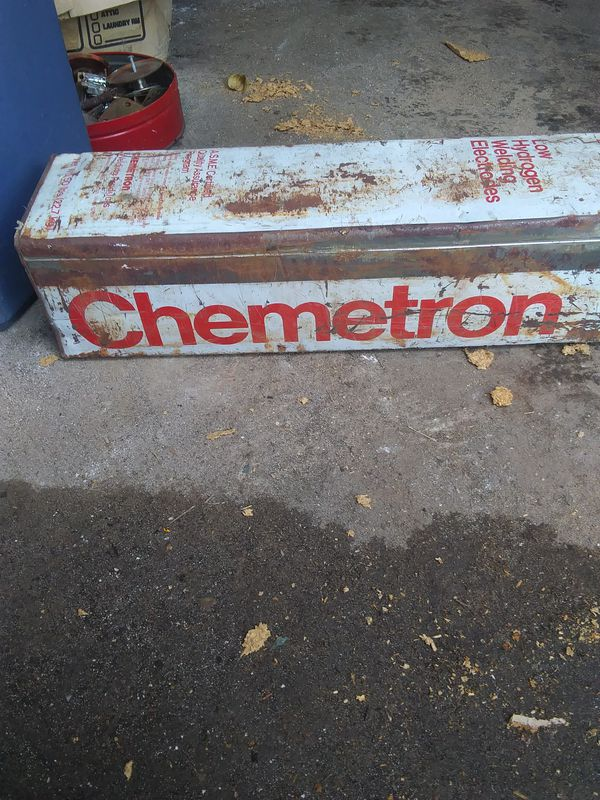 Arc welding stick - chemetron for Sale in Houston, TX - OfferUp