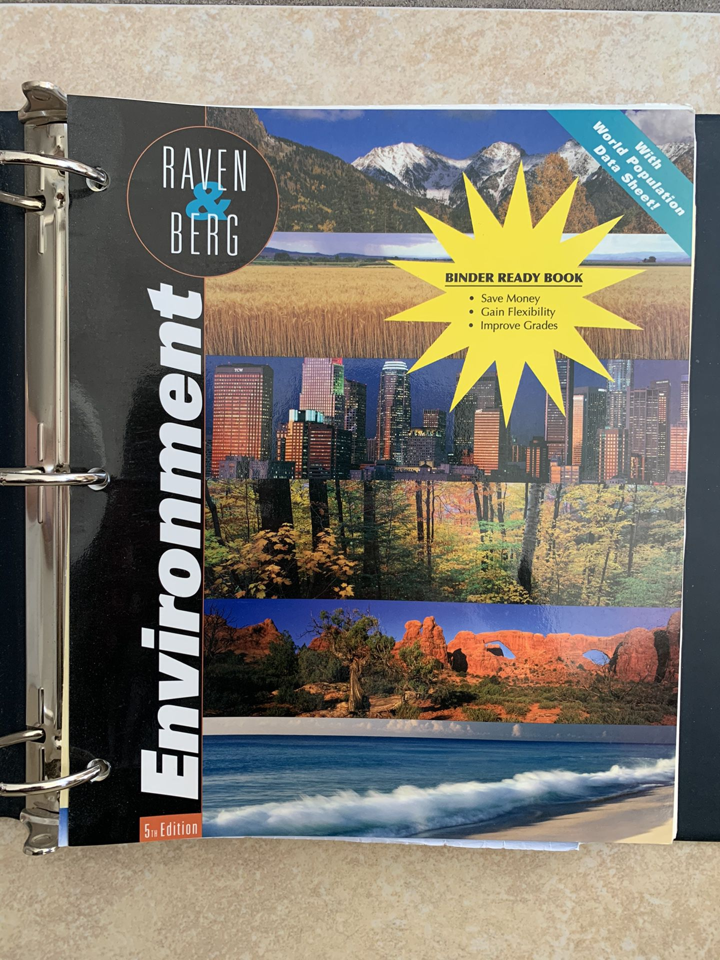 Environment 5th eEdition Wiley Plus Raven Berg