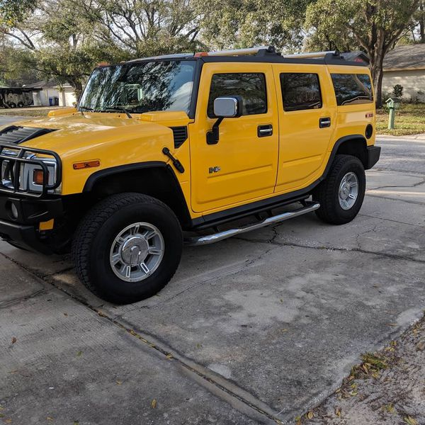 2005 Hummer H2 Yellow For Sale In Tampa, FL