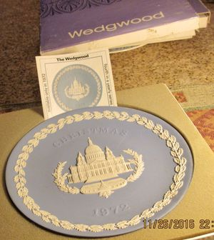 Wedgewood Christmas Collector Plates (1972) for Sale in Las Vegas, NV
