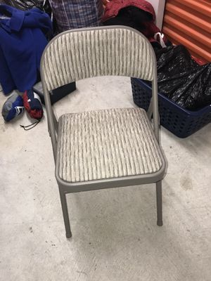 Folding chair like new for Sale in Silver Spring, MD