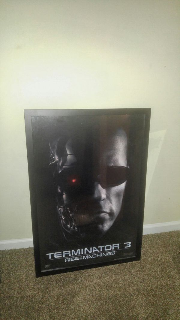 Movie theater poster and frame of The Terminator for Sale in Lithonia, GA -  OfferUp