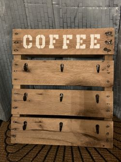 Homemade 9 cup coffee cup holder Thumbnail