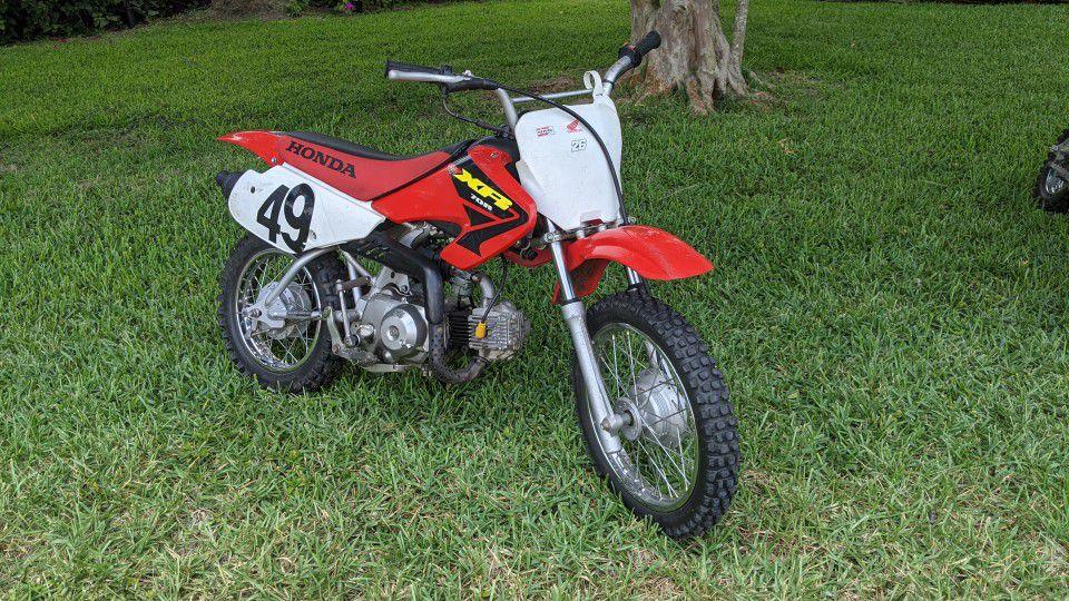 Photo Honda XR 70 2 Bikes !!!!