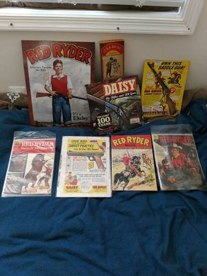 Vintage Red Ryder comics, books and ads for Sale in Gaithersburg, MD