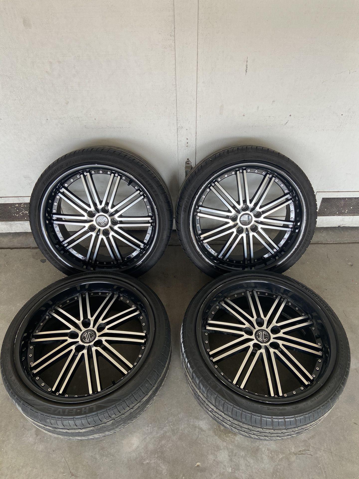 "20"" wheels & tires"