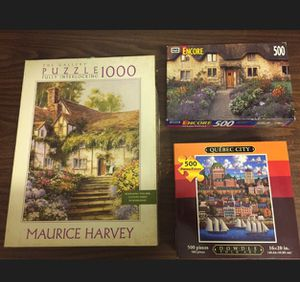 3 Puzzles games for Sale in Hialeah, FL