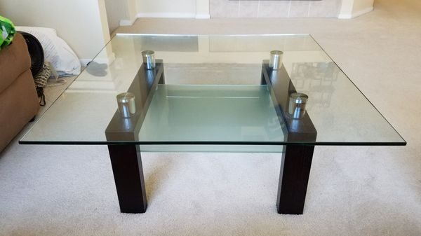 Caroline Glass Coffee Table Scandinavian Designs For Sale In San