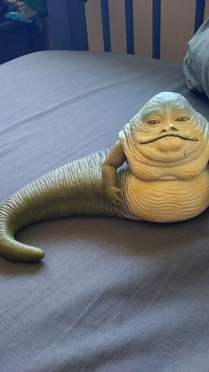 Star wars jabba the Hutt figure toy collectable vintage for Sale in Norwalk, CA