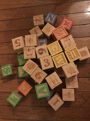 Wooden blocks for Sale in Arlington, VA