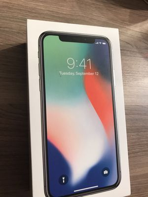 iPhone X, 256GB, AT&T, CLEANED IMEI, Like Brand New for Sale in Springfield, VA