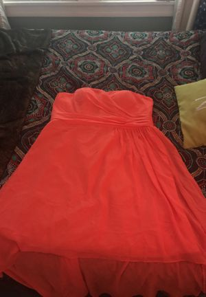 Coral bridesmaid's dress for Sale in Austin, TX