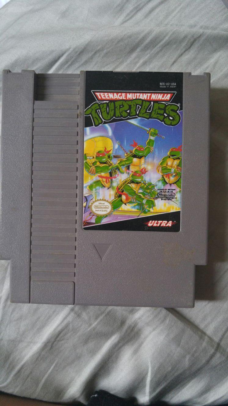 Original NES Teenage mutant ninja turtles