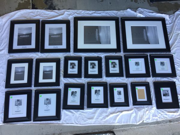 Aaron Brothers Metropolitan Black Picture Photo Frames For Sale In