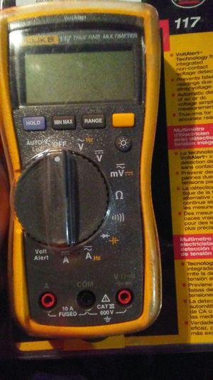 New fluke meter 117 for Sale in El Paso, TX