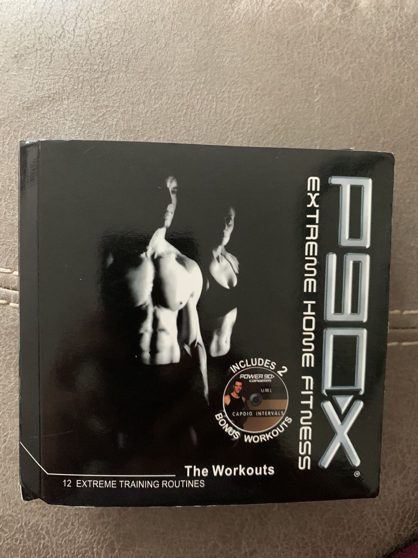 P90x extreme home fitness- set of 12 DVDs