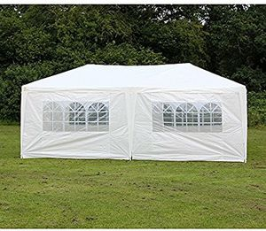 10x20 Party Pole Tent Six Sides for Sale in Denton, NC