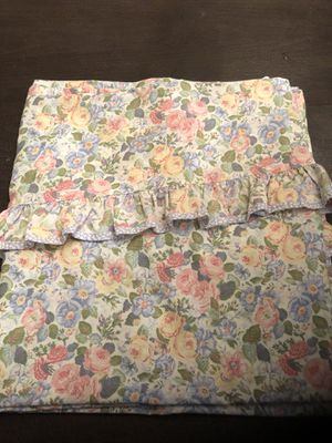 Vintage Laura Ashley Shower Curtain for Sale in Chantilly, VA