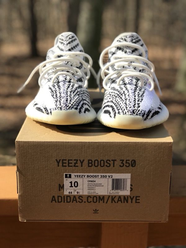 cd37a2e7331 ... low cost adidas yeezy boost 350 zebra v2 size 10 for sale in wilmington  de offerup ...