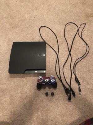 PlayStation 3 w/ controller and games for Sale in West Springfield, VA