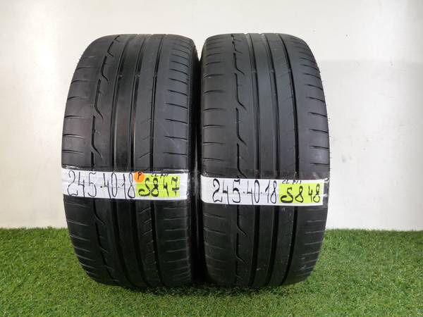 Used Tires Orlando >> J195 245 40 18 Dunlop Sport Maxx Rt 2 Used Tires For Sale In