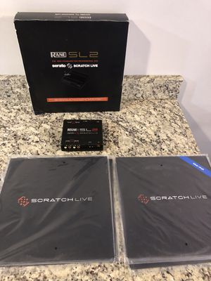 Serato SL2 (Box and Vinyls included ) for Sale in Bowie, MD