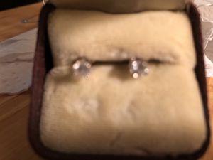 Real Diamond earrings 14K 1/2TW for Sale in Winter Park, FL