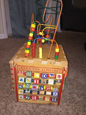 Kids educative learning block learn alphabets have fun for Sale in Manassas, VA