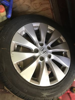 Honda Accord 2008 tires+ rims for Sale in Silver Spring, MD
