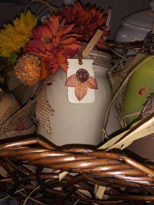 Fall mason jar creations. for Sale in Riverside, CA
