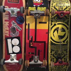 Skateboards: Plan B, Dig Dug, Kryptonic Thumbnail