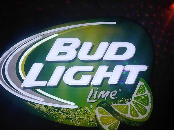 Bud Light Lime Led Sign For Sale In Saint Regis Park Ky