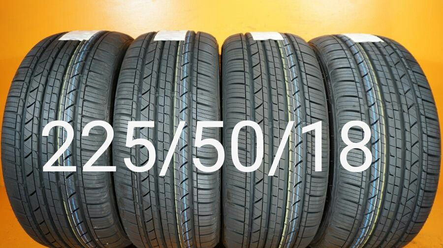 4   New Tires   For Sale   225/50/18