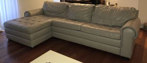 Leather couches for Sale in Fairfax, VA