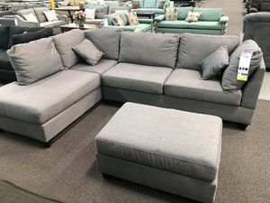 New Couch Sectional Grey Free Delivery For In Los Angeles Ca