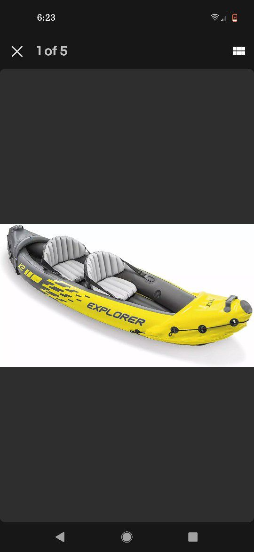 Photo Inflatable Kayak Like New. Used Once