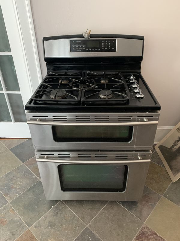 Jenn Air 5 Burner Double Oven Gas Stove For Sale In