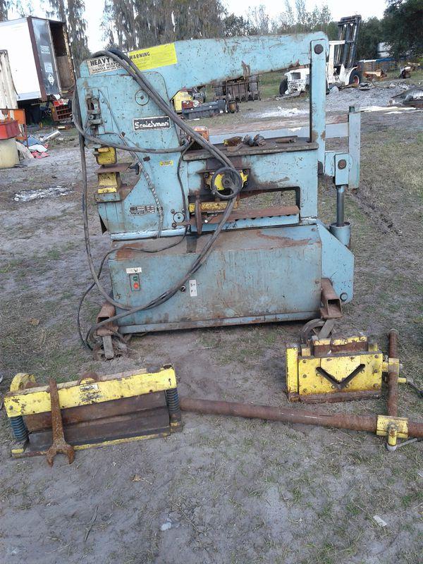 65 Ton Scotchman Iron Worker Model 6509 For Sale In Zephyrhills FL