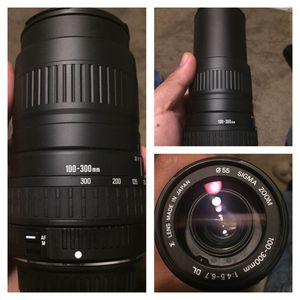 Sigma 100-300mm for Sale in San Francisco, CA