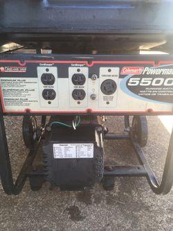 Power mate generator 5500 Thumbnail