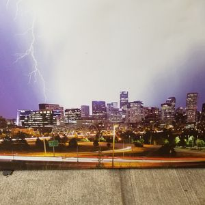 Denver Skyline on Canvas for Sale in Denver, CO