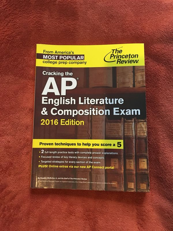 Cracking The Ap English Literature And Composition Exam For Sale In
