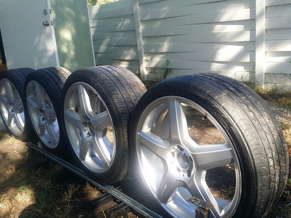 Authentic 20 Oem Amg Staggered Wheels Tires For Sale In Columbia Sc Offerup