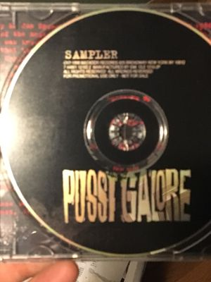 Pussy Galore sampler compact disc not vinyl LP record album for Sale in Austin, TX