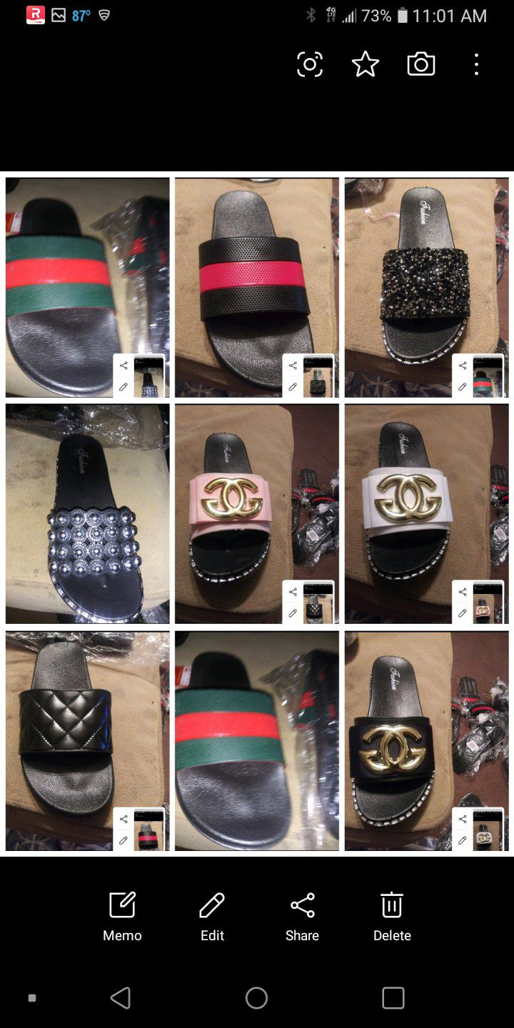 I Have Sizes 7 Thru 9 The Black In Red And Black N Green Are For Both Male And Females