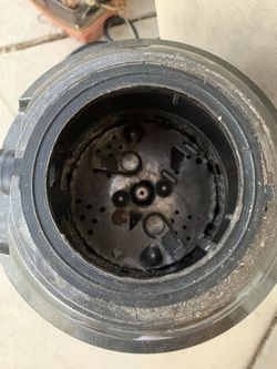 Garbage Disposal - American Standard. 2700 RPM, 1.25 HP. Warranty 10 years. Works great. Changed kitchen sink and do not want to use a garbage disposa Thumbnail