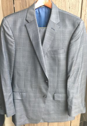 Tommy Hilfiger Navy Window Checked Suit 44R for Sale in Washington, DC