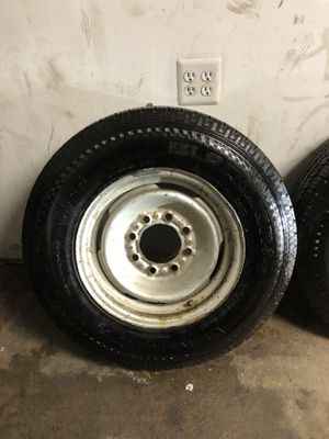 Tire and rims LT 225 75 16 for Sale in Falls Church, VA